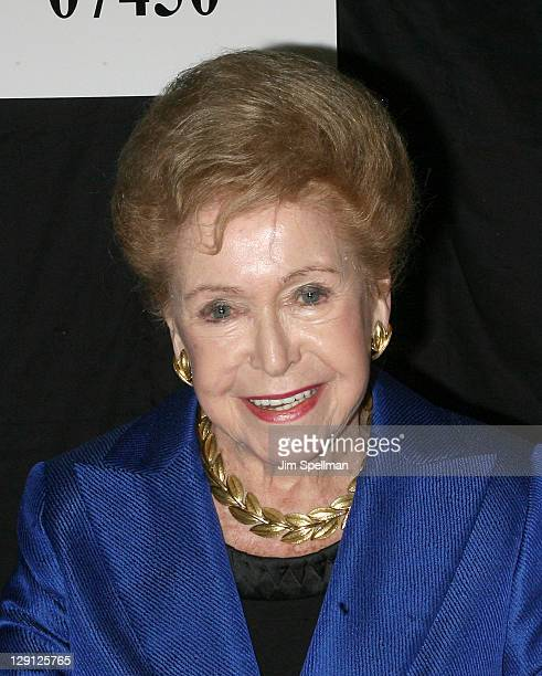 """Mary Higgins Clark promotes """"I'll Walk Alone"""" & """"Mobbed"""" at Bookends Bookstore on April 12, 2011 in Ridgewood, New Jersey."""