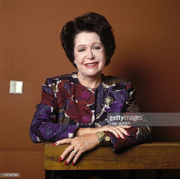 Mary Higgins Clark writer American in France in September 1989