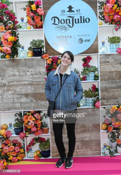 Mary Holland attends the Tribeca Film Festival AfterParty for Good Posture Hosted By Don Julio at Magic Hour Rooftop Bar Lounge on April 27 2019 in...