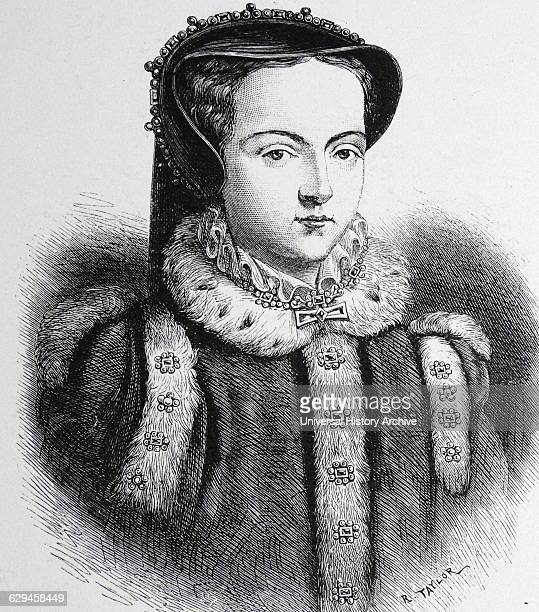 Mary I of England Queen from 1553 Daughter of Henry VIII and Catherine of Aragon