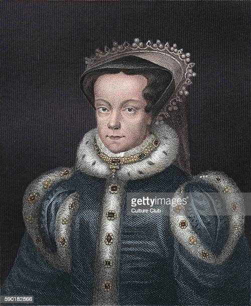 Mary I or 'Bloody Mary' portrait Queen of England from July 1553 until her death 18 February 1516 Ð 17 November 1558