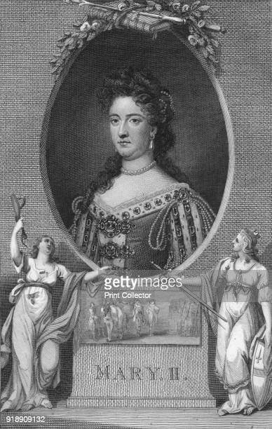 'Mary II' 1790 Mary II joint monarch of England Scotland and Ireland with her husband and first cousin William III of Orange from 1689 until her...
