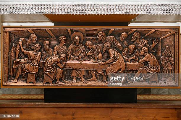 Mary Immaculate's church Muro Leccese Altar Italy