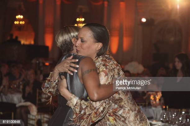 Mary J Blige and Gena Lovett attend 59th Annual New York Junior League Winter Ball at The Grand Ballroom on March 5 2011 in New York City