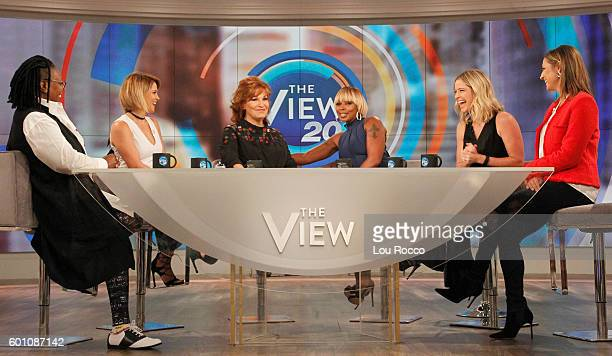 THE VIEW Mary J Blige and Maxwell visit THE VIEW 9/9/16 airing on the Walt Disney Television via Getty Images Television Network FARIS