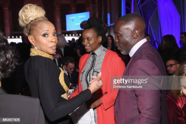 Mary J Blige and Michael K Williams attend IFP's 27th Annual Gotham Independent Film Awards on November 27 2017 in New York City