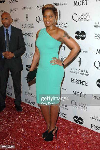 Mary J. Blige arrives at the 3rd Annual Essence Black Women in Hollywood luncheon at the Beverly Hills Hotel on March 4, 2010 in Beverly Hills,...