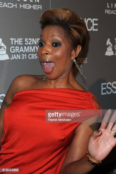 Mary J Blige attends 40th Anniversary Of ESSENCE Magazine at Sunset Tower Hotel on January 27 2010 in Los Angeles California