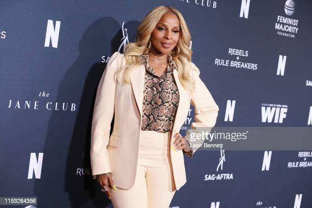 Mary J. Blige attends FYC Netflix Event Rebels And Rule Breakers at Netflix FYSEE at Raleigh Studios on June 02, 2019 in Los Angeles, California.