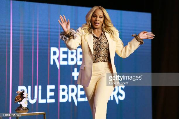 Mary J Blige attends FYC Netflix Event Rebels And Rule Breakers at Netflix FYSEE at Raleigh Studios on June 02 2019 in Los Angeles California