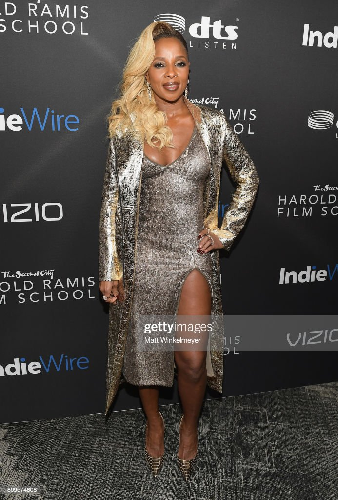 Mary J. Blige attends Inaugural IndieWire Honors on November 2, 2017 in Los Angeles, California.