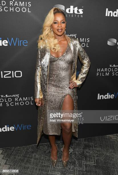 Mary J Blige attends Inaugural IndieWire Honors on November 2 2017 in Los Angeles California