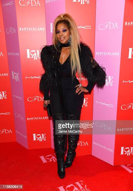 Mary J Blige attends Love Ball III at Gotham Hall on June 25 2019 in New York City