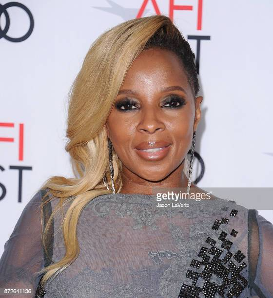 Mary J Blige attends the 2017 AFI Fest opening night gala screening of 'Mudbound' at TCL Chinese Theatre on November 9 2017 in Hollywood California