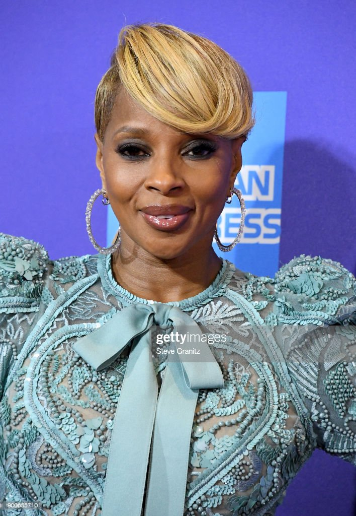 Mary J. Blige attends the 29th Annual Palm Springs International Film Festival Awards Gala at Palm Springs Convention Center on January 2, 2018 in Palm Springs, California.