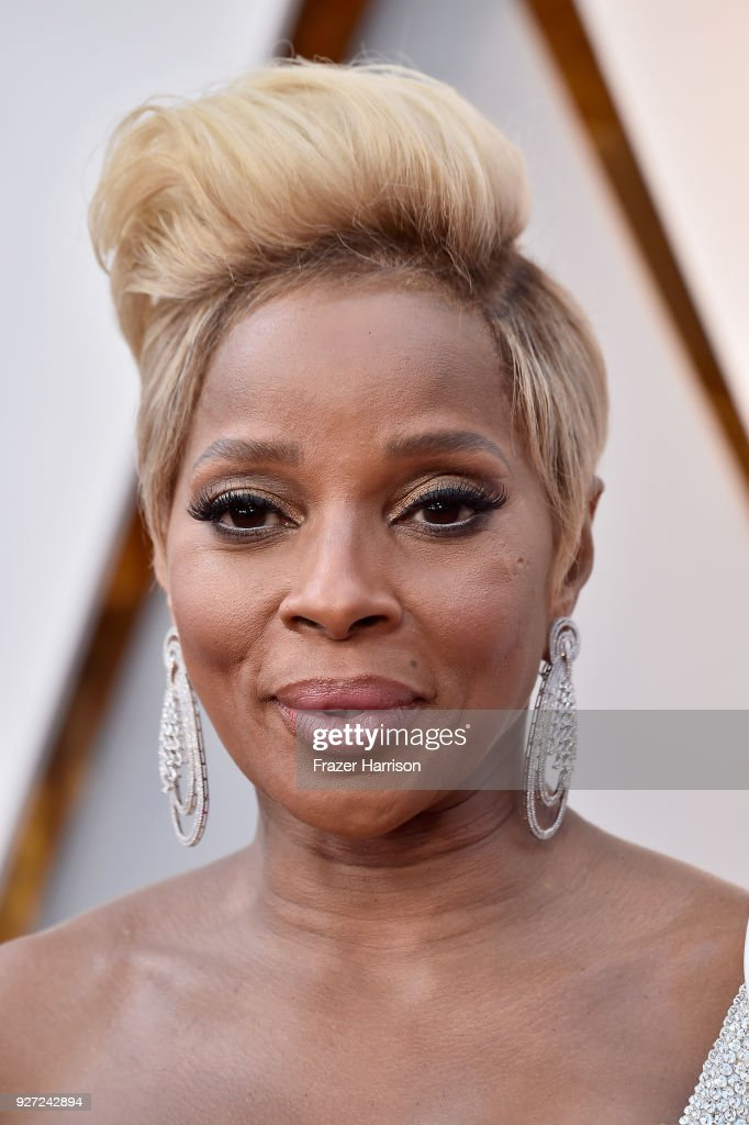 Mary J. Blige attends the 90th Annual Academy Awards at Hollywood & Highland Center on March 4, 2018 in Hollywood, California.