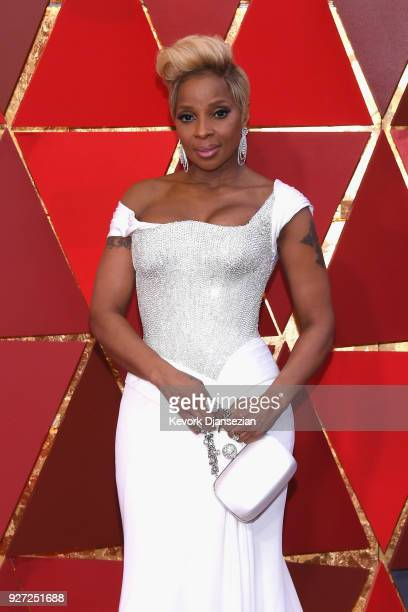 Mary J Blige attends the 90th Annual Academy Awards at Hollywood Highland Center on March 4 2018 in Hollywood California
