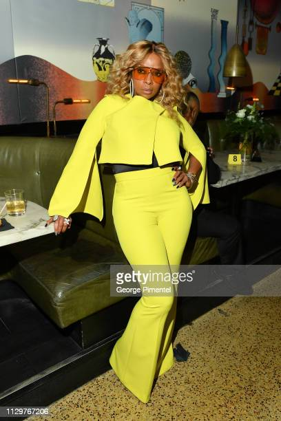 Mary J Blige attends the after party of Netflix's 'The Umbrella Academy' at The Drake Hotel on February 14 2019 in Toronto Canada
