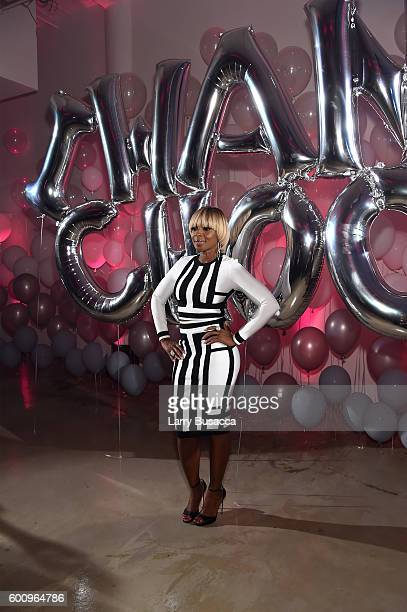 Mary J Blige attends the Jimmy Choo 20th Anniversary Event during New York Fashion Week on September 8 2016 in New York City