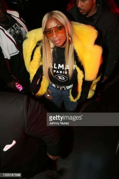 Mary J Blige attends the Loud Records 25th Anniversary Concert at Radio City Music Hall on January 30 2020 in New York City