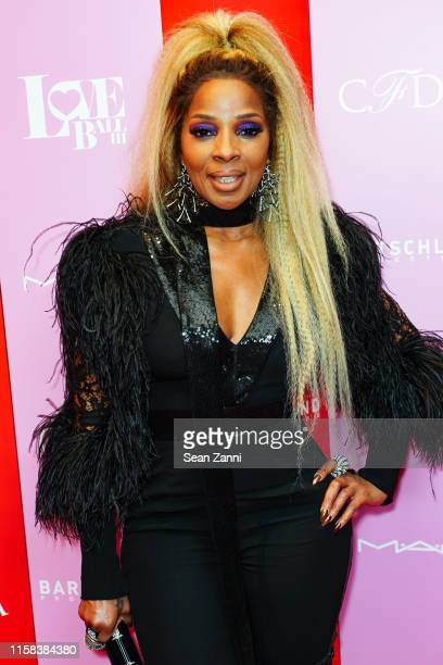 Mary J Blige attends the LOVE Ball III Arrivals at Gotham Hall on June 25 2019 in New York City