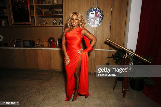 Mary J Blige attends The Umbrella Academy Premiere on February 12 2019 in Hollywood California