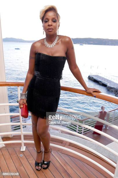 Mary J Blige attends the Vanity Fair and HBO Dinner celebrating the Cannes Film Festival at Hotel du CapEdenRoc on May 20 2017 in Cap d'Antibes France