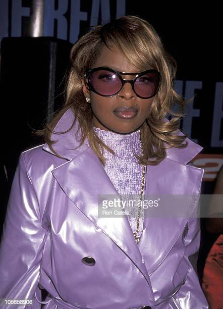 Mary J Blige during 10th Annual Soul Train Music Awards at Shrine Auditorium in Los Angeles California United States