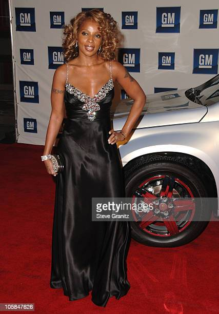 Mary J. Blige during 6th Annual GM Ten - Arrivals at Paramount Studios in Hollywood, CA, United States.