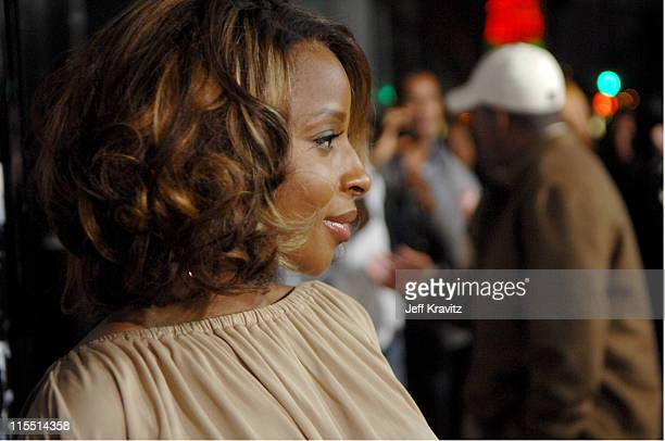 """Mary J. Blige during """"Entourage"""" Third Season Premiere in Los Angeles - Red Carpet at The Cinerama Dome in Los Angeles, California, United States."""