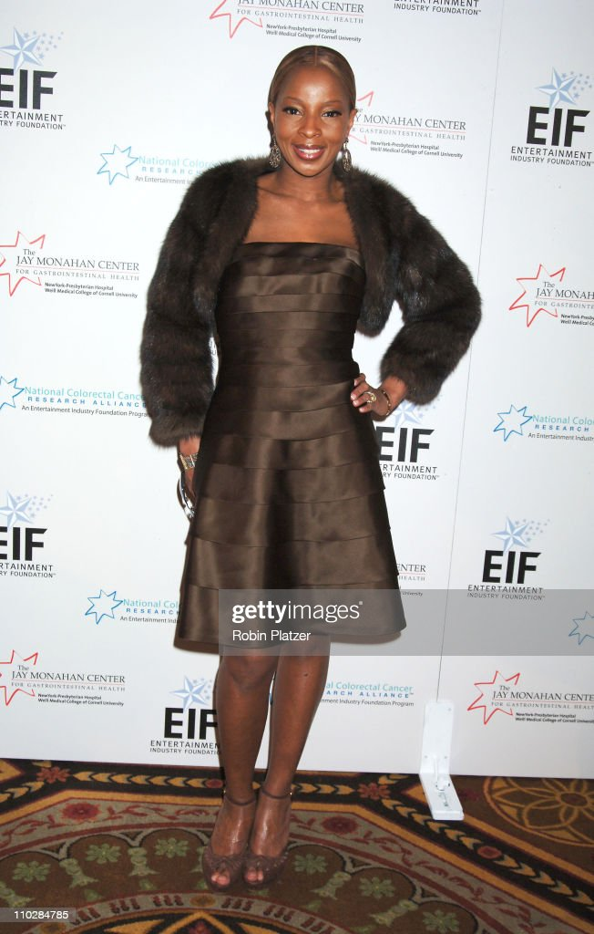 Mary J Blige during Katie Couric, EIF and NCCRA Present 'Hollywood Meets Motown' Benefit - Arrivals at The Waldorf Astoria Hotel in New York, New York, United States.