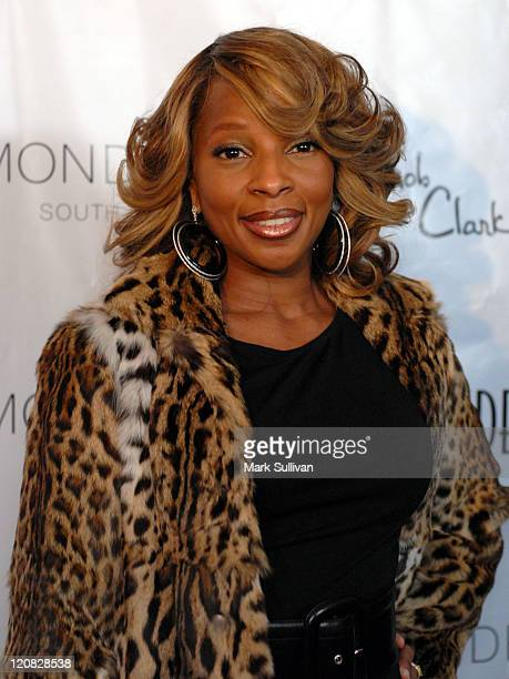 Mary J Blige during Los Angeles Confidential Magazine in Association with Morgans Hotel Group Celebrates the 2007 Oscars with Forest Whitaker Rob...