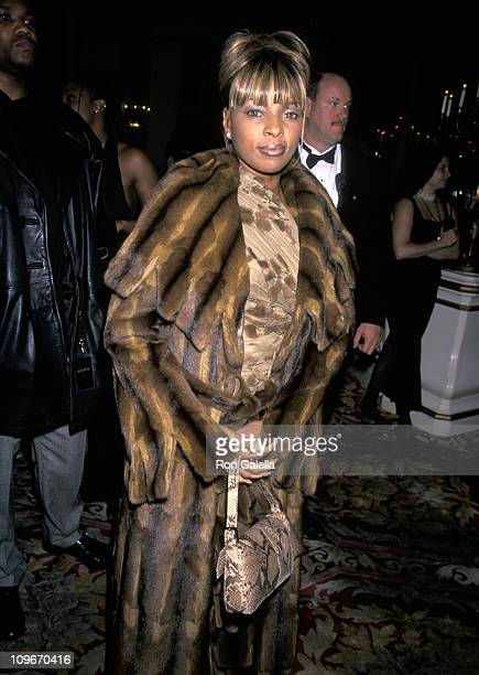 Mary J Blige during The 40th Annual GRAMMY Awards Arista Records PreParty Hosted by Clive Davis at Plaza Hotel in New York City New York United States