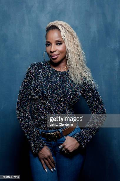 Mary J Blige from the film 'Mudbound' pose for a portrait at the 2017 Toronto International Film Festival for Los Angeles Times on September 12 2017...