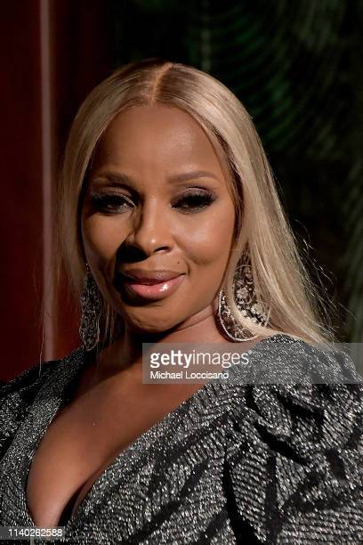 Mary J Blige is honored during the NAN Keepers Of The Dream Awards at the Sheraton Times Square on April 03 2019 in New York City