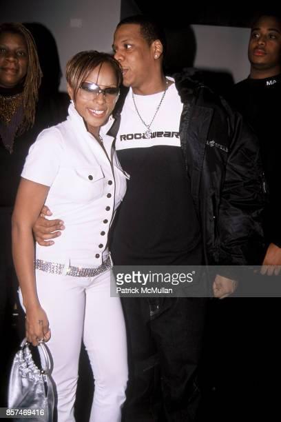 Mary J Blige Jay Z MAC Viva GlamParty Tuscan Steak Restaurant NYC February 12 2001