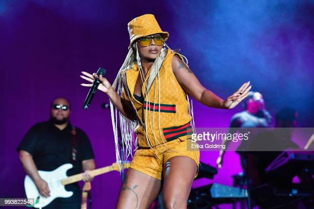 Mary J Blige performs at the 2018 Essence Music Festival at the MercedesBenz Superdome on July 7 2018 in New Orleans Louisiana