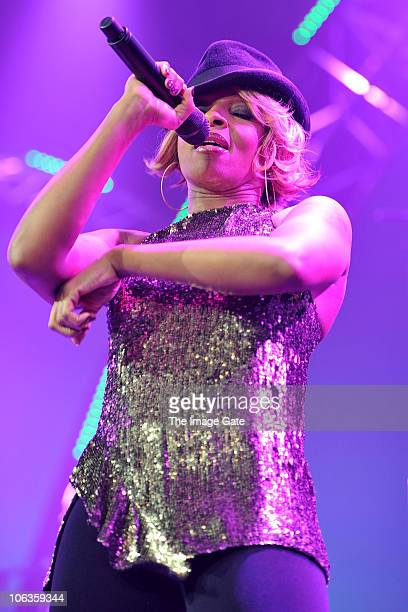 Mary J Blige performs at the Avo Session on October 29 2010 in Basel Switzerland