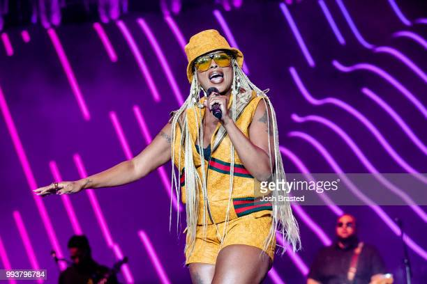 Mary J Blige performs during the 2018 Essence Festival at the MercedesBenz Superdome on July 7 2018 in New Orleans Louisiana