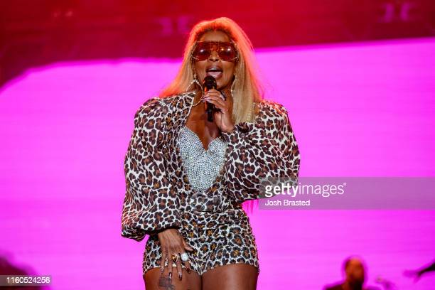 Mary J Blige performs during the 25th Essence Festival at the MercedesBenz Superdome on July 06 2019 in New Orleans Louisiana