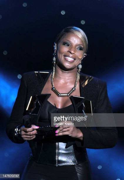 Mary J Blige performs on June 30 2012 in Atlantic City United States