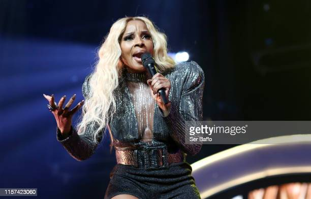 Mary J. Blige performs onstage at the BET Experience STAPLES Center Concert Sponsored By NISSAN at Staples Center on June 20, 2019 in Los Angeles,...