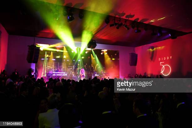 Mary J Blige performs onstage during Sean Combs 50th Birthday Bash presented by Ciroc Vodka on December 14 2019 in Los Angeles California