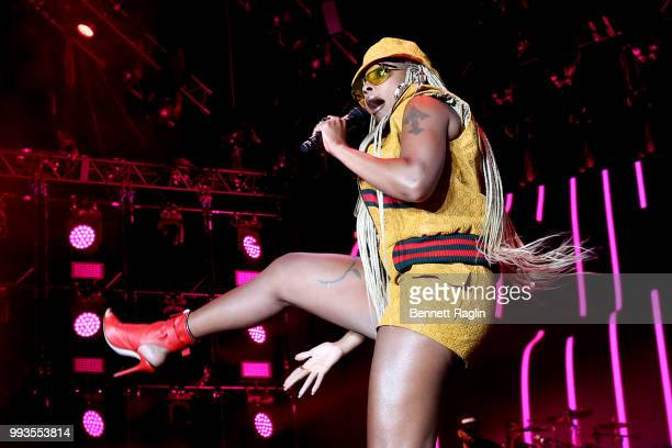 Mary J Blige performs onstage during the 2018 Essence Festival presented By CocaCola Day 2 at Louisiana Superdome on July 7 2018 in New Orleans...
