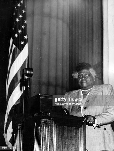 Mary Jane McLeod Bethune an American educator and civil rights leader who started a private school for AfricanAmerican students 1939