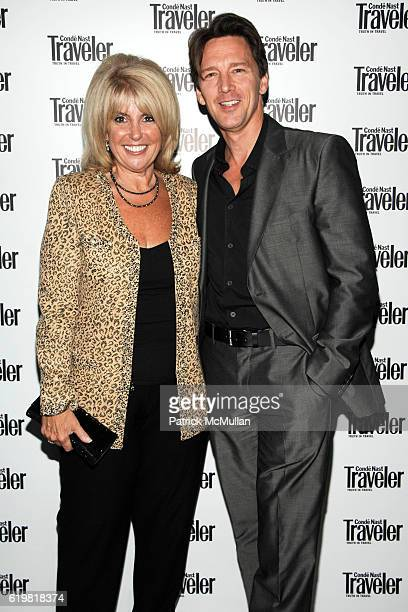 Mary Jean Tully and Andrew McCarthy attend CONDE NAST TRAVELER Hosts Acclaimed Readers' Choice Awards Inside Backstage at New York Public Library on...