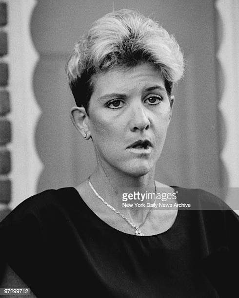 Mary Jo Buttafuoco at her lawyer's office