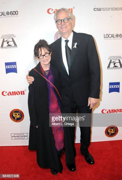 Mary Jo Deschanel and Caleb Deschanel at the 2017 Society Of Camera Operators Awards held at Loews Hollywood Hotel on February 11 2017 in Hollywood...