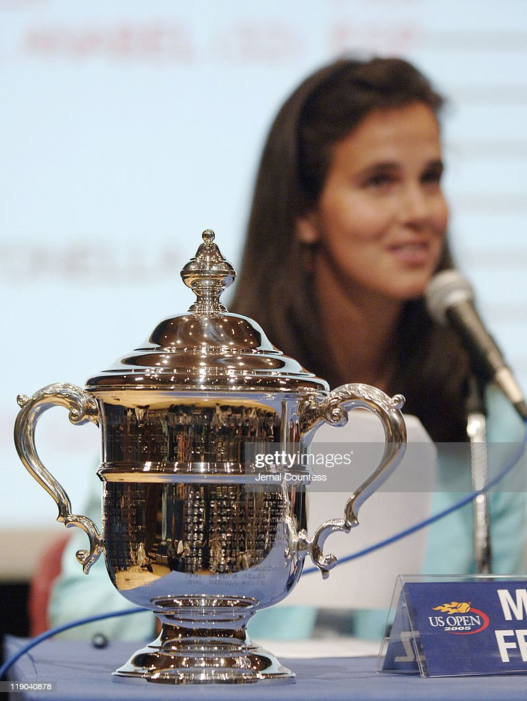 2005 US Open - Draw Press Conference - August 24, 2005