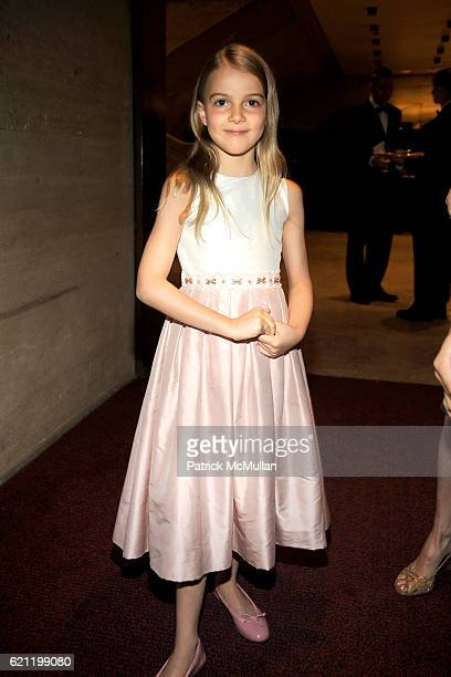 Mary Julia Koch attends Literacy Partners Hosts Annual Gala An Evening of Readings Honoring David and Julia Koch at Lincoln Center on May 12 2008 in...